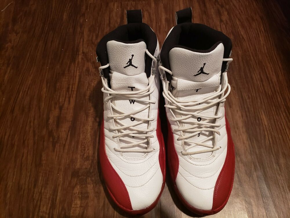 finest selection c29cd 524b7 2009 Nike Air Jordan 12 XII Retro Cherry Size 14 130690-110 1 2 3 4 5   fashion  clothing  shoes  accessories  mensshoes  athleticshoes (ebay link)