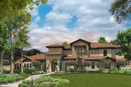 Luxury Homes - Details for 'BELLA PALAZZO' in Hunters Creek - SOLD