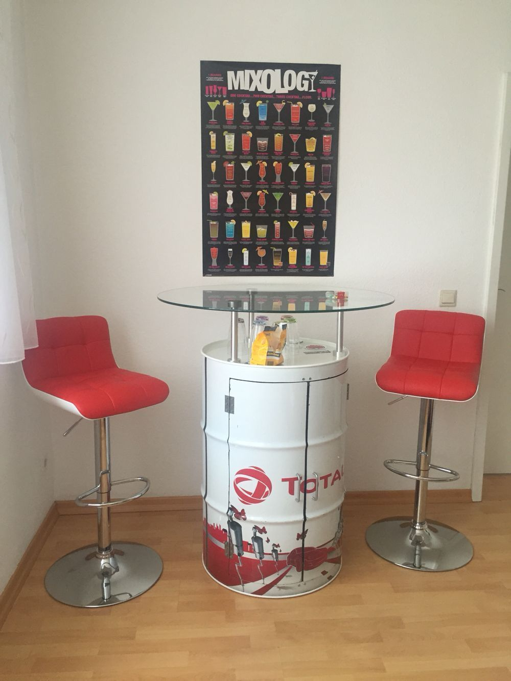 Bartisch Bar table DIY | Bar Tables | Pinterest | Bartisch und Bar