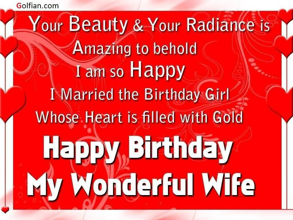 70 Beautiful Birthday Wishes Images For Wife U2013 Birthday