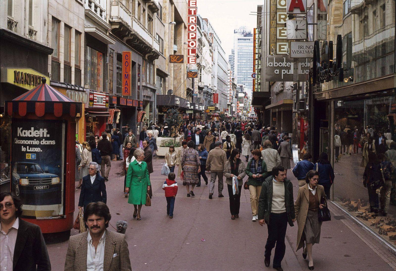 1981 03 Rue Neuve Bruxelles Brussels Belgium Belgium Brussel