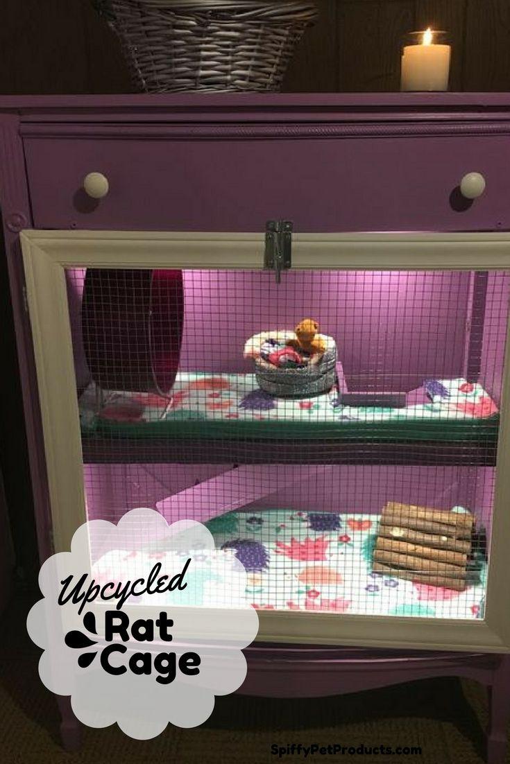 diy hedgehog cage dresser