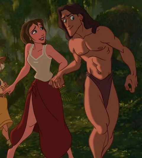 Jane Porter Tarzan Disney Tarzan And Jane