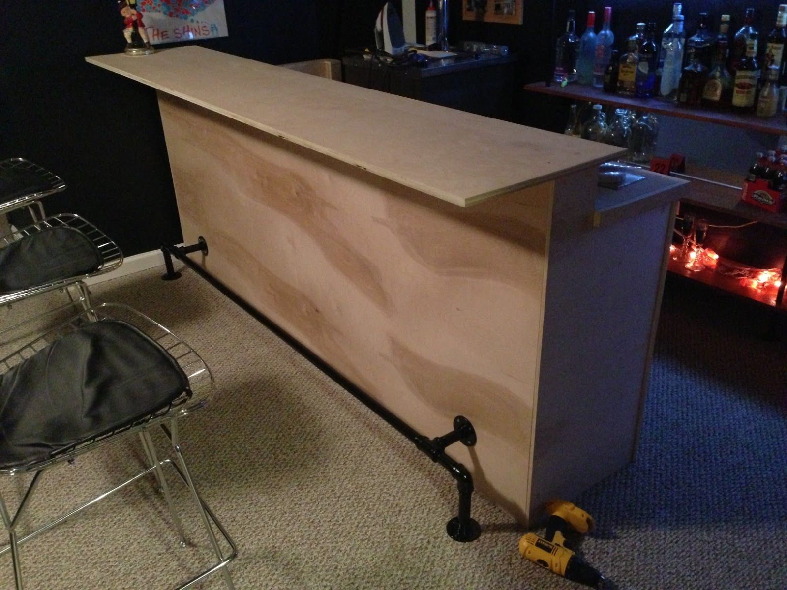 It 39 s been a long time since my last post if there 39 s for How to build a bar in your basement