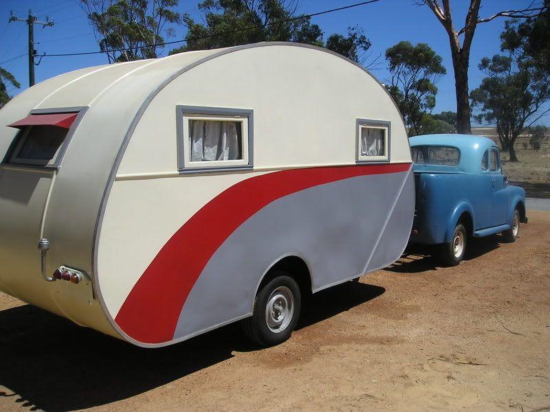 vintage rv vintage trailer caravanes relook es pinterest relooker caravane et aventure. Black Bedroom Furniture Sets. Home Design Ideas
