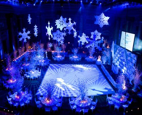 Pittsburgh Lighting Design And Special Decor Christmas Settings Winter Wonderland Party Quinceanera Decorations