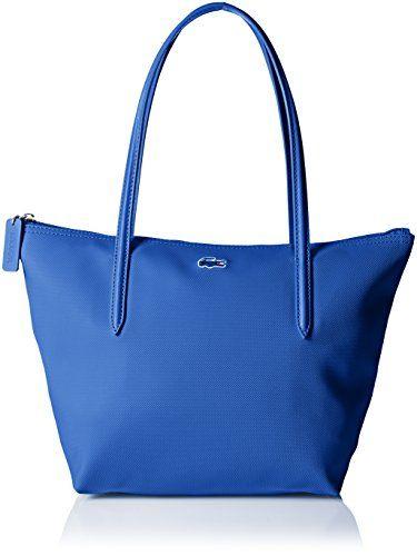 4659fde2520 Lacoste Women's L.12.12 Concept Medium Shopping Bag Tote Bag | Style ...