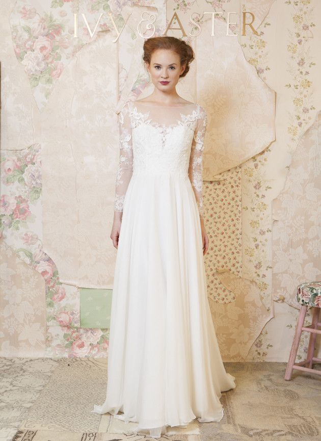 Ivy & Aster Wedding Dress Collection   Bridal Musings Wedding Blog 26
