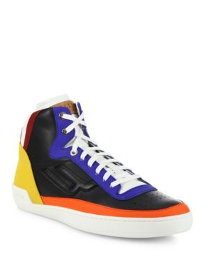 3e3d7c34f317 BALLY Etoy Ethry Multicolor Calf Leather Sneakers.  bally  shoes  sneakers
