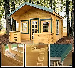 Fine 1000 Images About Small Log Homes On Pinterest Kid Playhouse Largest Home Design Picture Inspirations Pitcheantrous