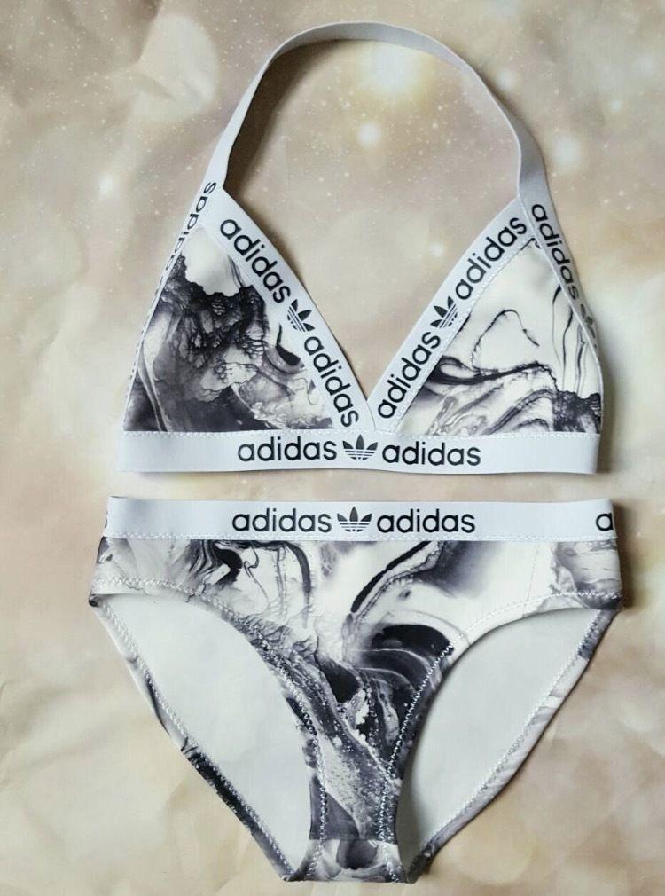 Marble Adidas Bikini