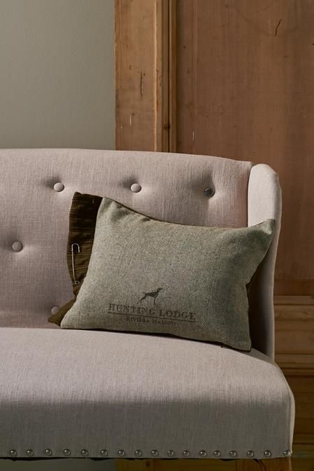 Hunting Lodge Knit Pillow 30x40