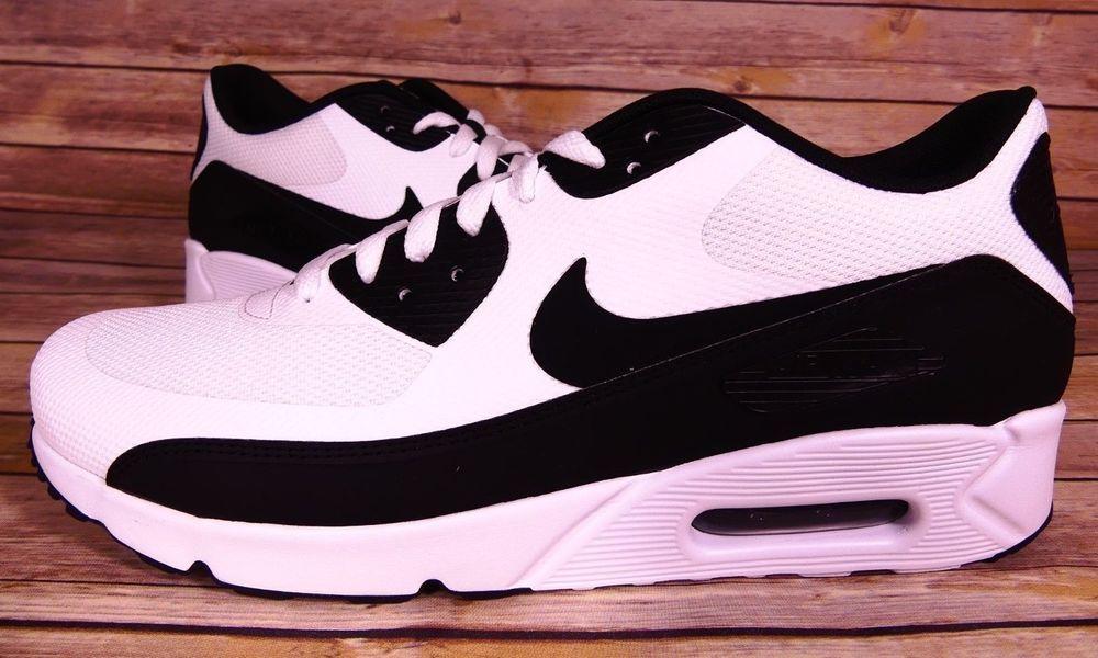 Nike – Air Max 90 Ultra 2.0 Essential Mens Shoes WhiteBlack Black