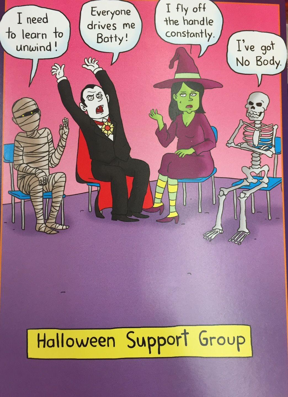 Halloween Support Group Halloween funny, Halloween jokes