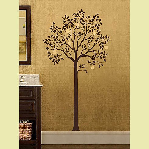 Large Fruit Tree Stencil - Reusable Wall Stencils for DIY Decor ...