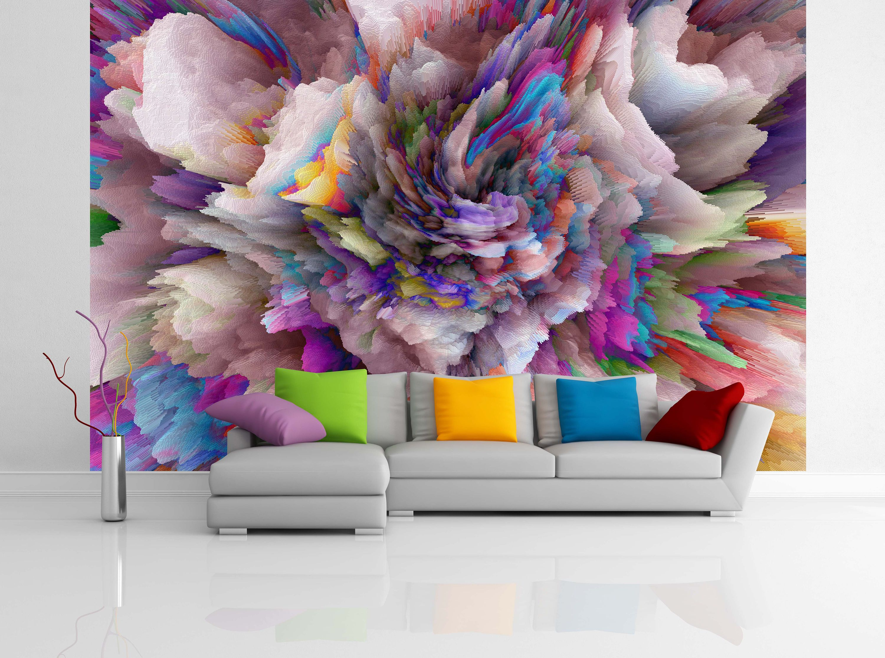 Removable Wallpaper Mural Peel Stick Abstract Background Squares Removable Wallpaper Mural Wallpaper Mural