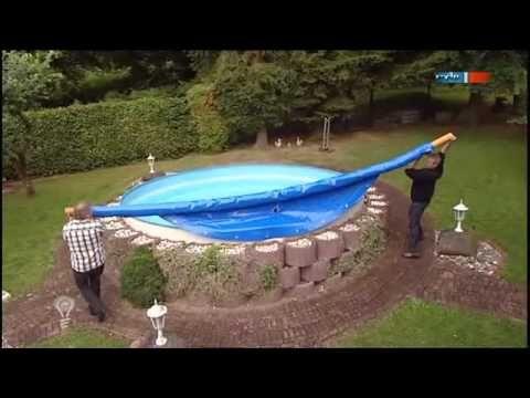 Die aufblasbare pool abdeckung mdr einfach genial 13 for Stahlwandbecken obi