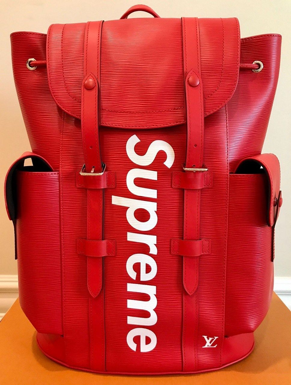 df0942005fa4 Louis Vuitton x SUPREME Christopher Backpack