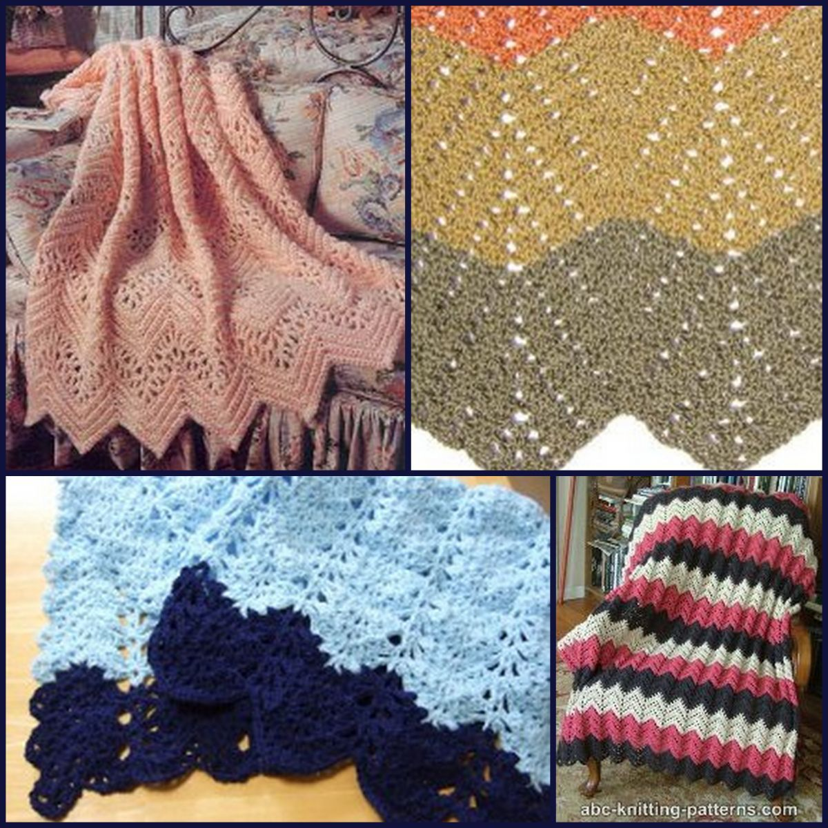 20 Lace Crochet Designs for Afghans   Free crochet afghan patterns ...