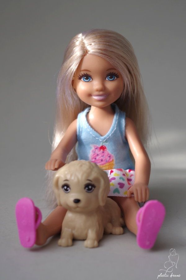 Barbie And Her Sisters In A Puppy Chase Chelsea Doll Ice Cream Dress
