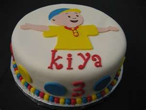 Caillou cake Flickr Photo Sharing Caillou Birthday Party