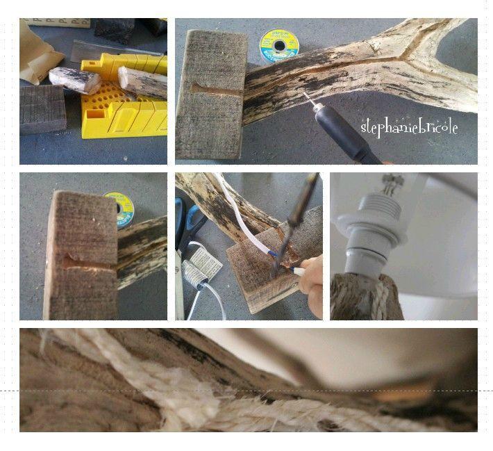 Diy Faire Une Lampe Soi Meme Modele En Bois Flotte 1 Driftwood