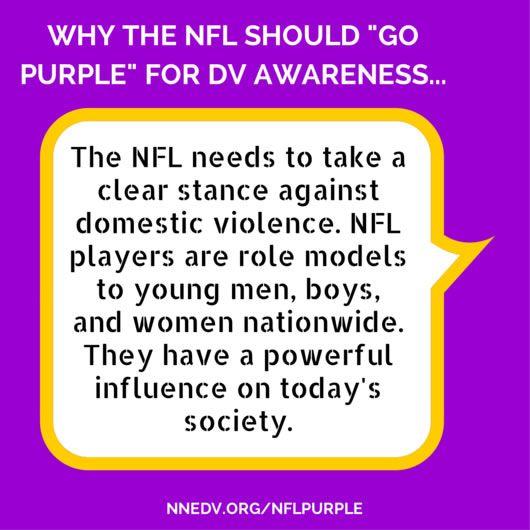 Learn more at http://nnedv.org/NFLpurple
