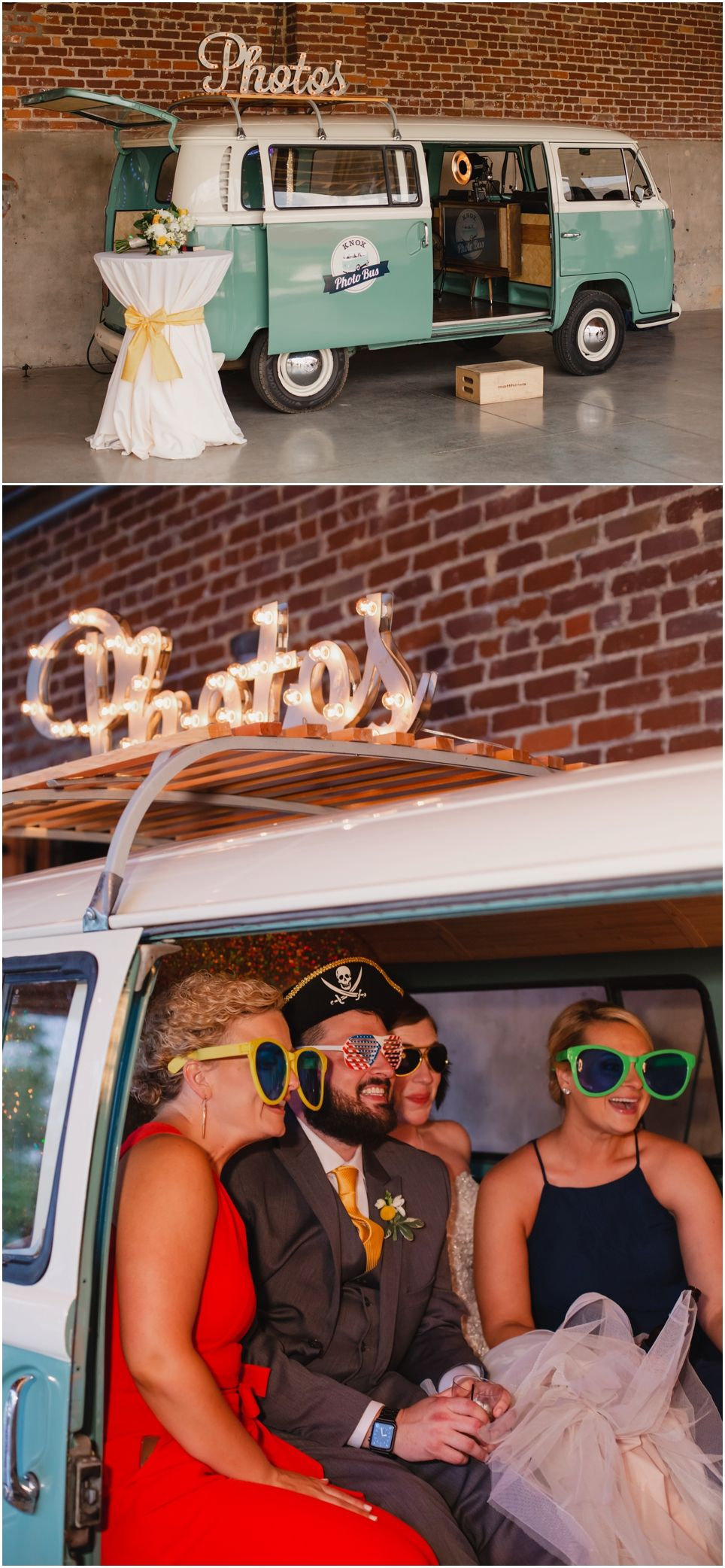 Mill and Mine Knoxville wedding, Photo, Photo booth
