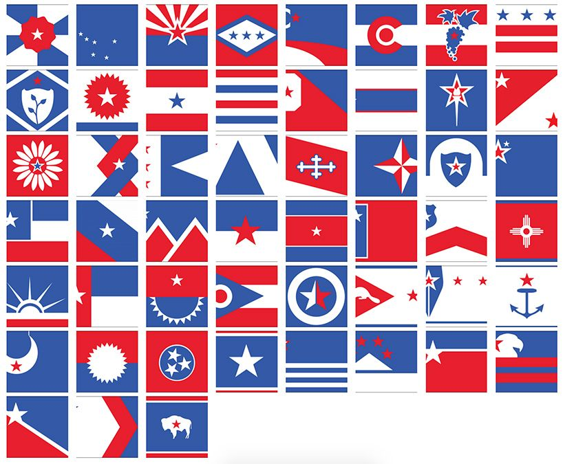Ranking All 50 U S State Flags From Worst To Best Sorry Maryland Us States Flags State Flags Flag