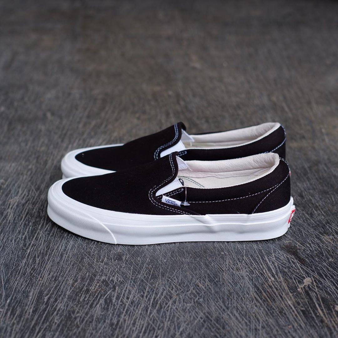 Vans Vault OG Slip-On LX Black/White