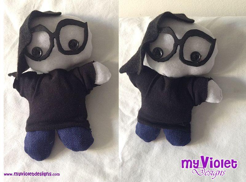 Muñequito de skrillex :D My Violet myvioletdesigns.com