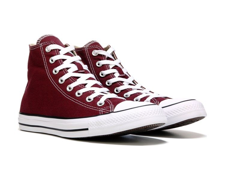 White Platform Converse leather Wedge High Top Lux Club