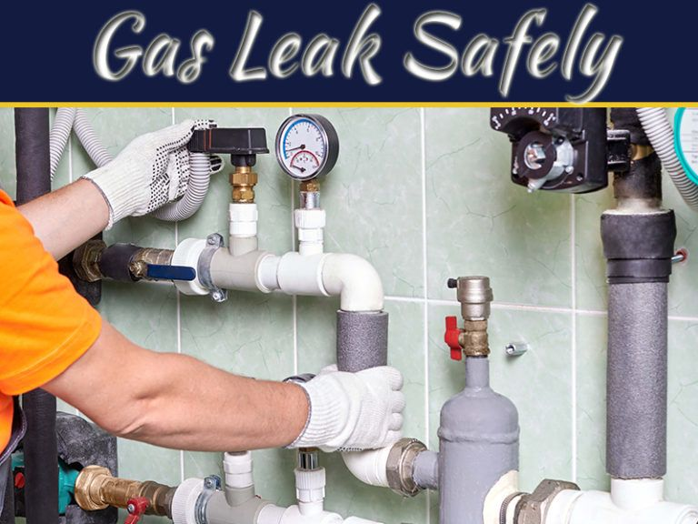 5 Steps For Safely Dealing With A Gas Leak My Decorative In 2020 Leaks Gas Home Improvement