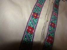 Vintage Ukrainian embroidered men's  shirt Cherkasy  region # 21