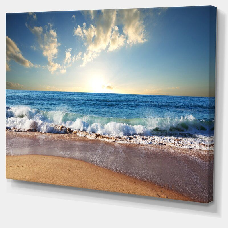 Sea Sunset Photographic Print Seascape Photography Seascape Canvas Art Prints