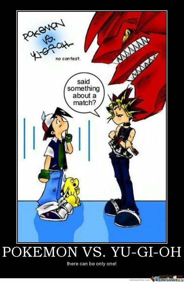 Yu Gi Oh Vs Pokemon Yugioh Anime Funny Pokemon