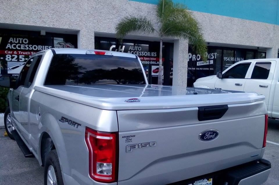 undercover lux for 2015 ford f 150 in silver look how nice the rear