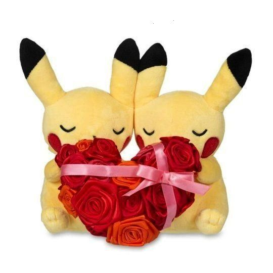 Pikachu Plushies released by the Pokemon Center -Paired Pikachu Plushies released by the Pokemon Ce