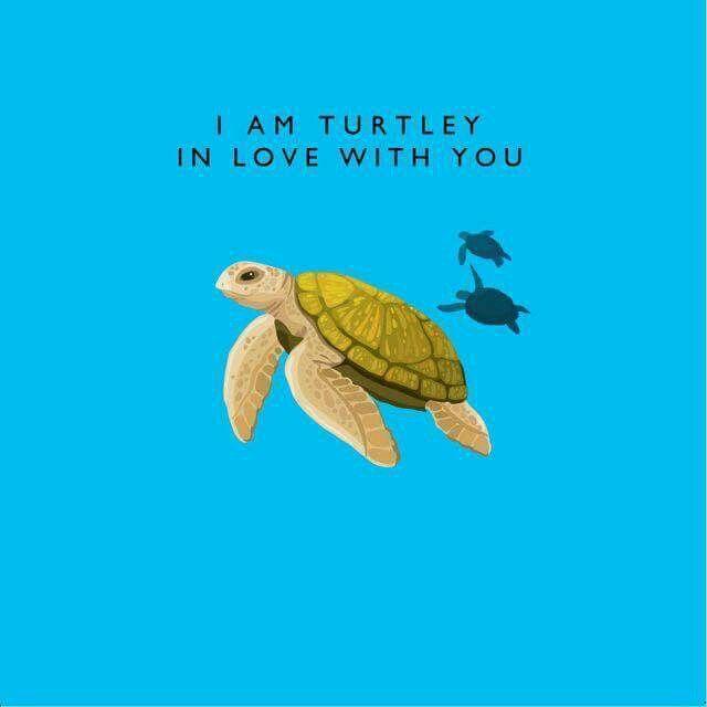 Sea Turtle Valentine Pun