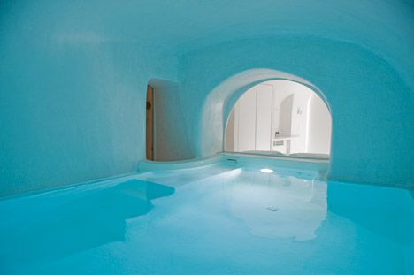 A Holiday House In Santorini Island By Alexandros Kapsimalis And Marianna