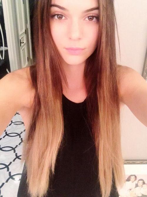 New hair? Long hair? Ombre hair? Whatevaa | Style Icon ...Kendall Jenner 2013 Hair