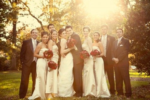 Real Weddings: Melissa + Diego | Champagne, Bridal parties and Weddings