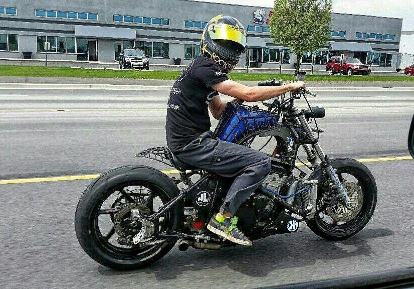 Bobber cold hard art thomas patsis motorcycle Suzuki   parts