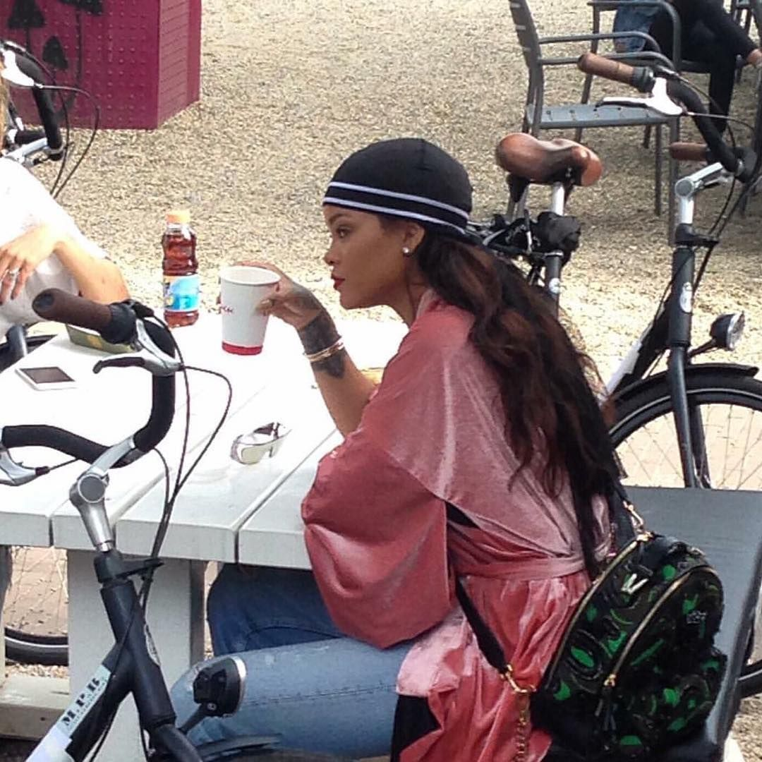 The Good Sis Robyn Fenty Out   About Today in Amsterdam  7e3ad0c87a51b