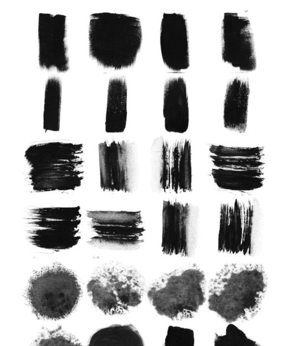 29 Ink Brushes For Traditional Chinese Painting Photoshop Ps