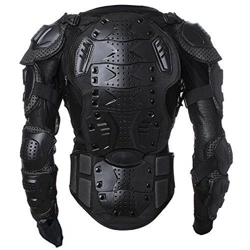 85342ddfe88 Men s Motorbike Motorcycle Protective Body Armour Armor Jacket Guard Bike  Bicycle Cycling Riding Biker Motocross Gear Black (Medium)