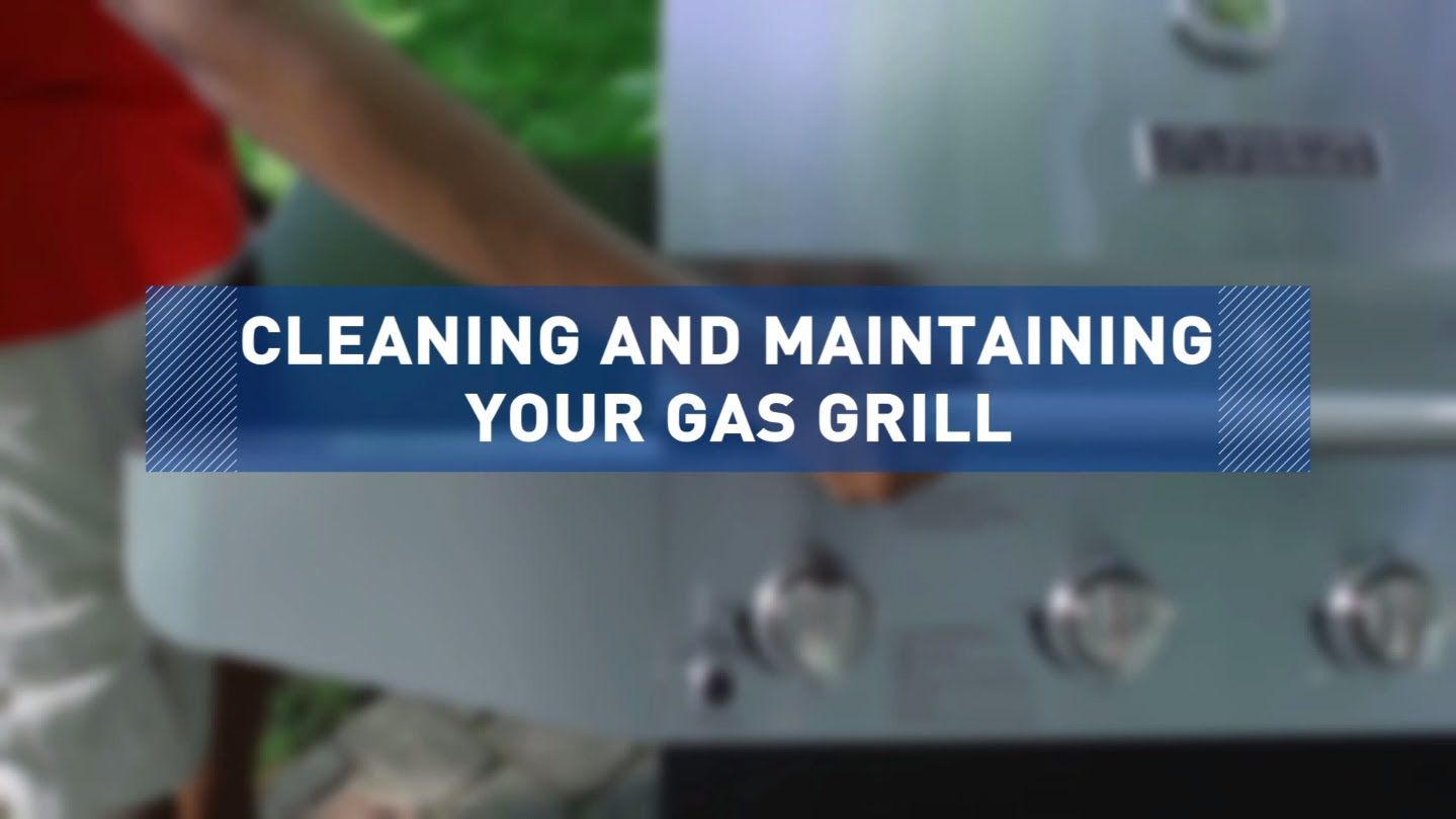 Youtube gas grill cleaning propane gas grill