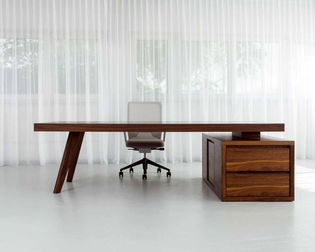 Desks Individual Desks Home Office Bridge Working Station MORGEN