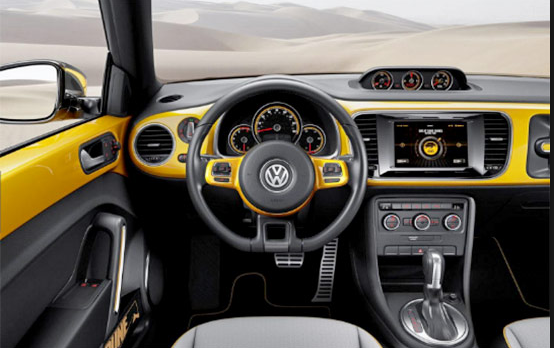VW Beetle 2018 Interior Design | vehiclesautos.com | Volkswagen beetle interior, Vw beetles, dan ...