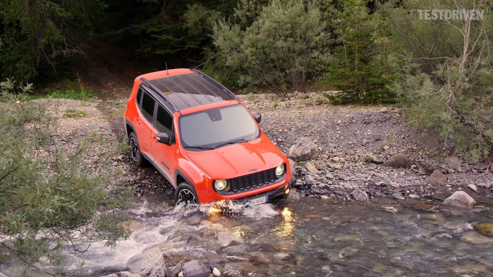 2015 Jeep Renegade Trailhawk Offroad Aerial Shots Of My Future